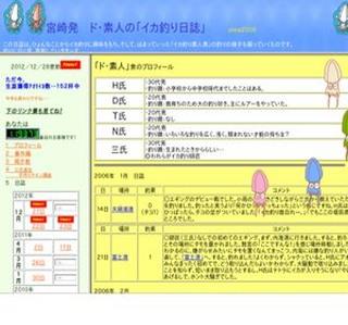 宮崎発 ド・素人の「イカ釣り日誌」