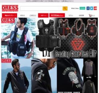 DRESS公式ホームページ