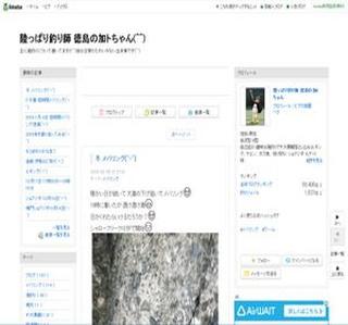 徳島の加トちゃん海釣り日記